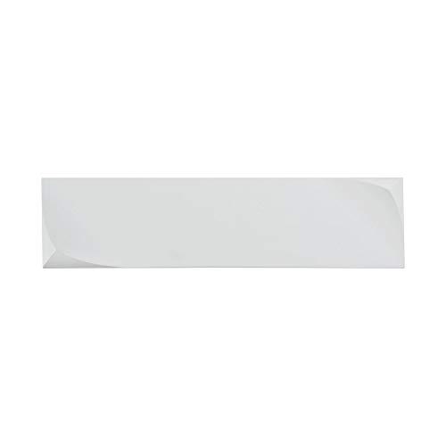 Applique Murale, LED Style Moderne, design ultramoderne, en forme rectangulaire en platre couleur blanc,1120lumen, 12W 3000k 220V