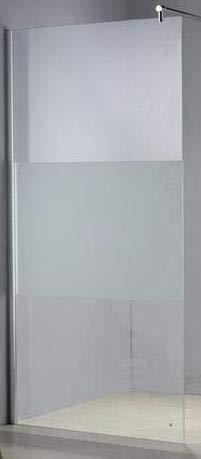 MAMPARA PANEL FIJO SERIGRAFIADO SP1010 90x200: Amazon.es ...