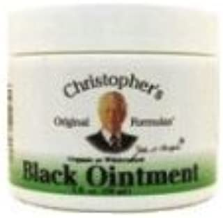 Black Drawing Ointment Dr. Christopher 2 oz Cream by Dr. Christopher's