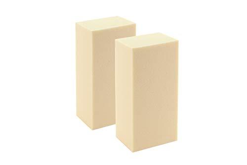 Sculpture Block SB 157550 Hartschaumblock, Modellierblock zum anfertigen von Figuren, Objekte, Modelle, 15cm x 7,5cm x 2cm, 2 Blöcke