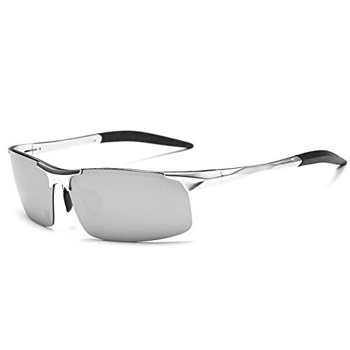 FGHJKOO Gafas de Sol Polarizadas MujerHombre/Decoloración del mercado nocturno/Protección UV400-Aire libre Deportes Golf Ciclismo Pesca Senderismo gafas de sol