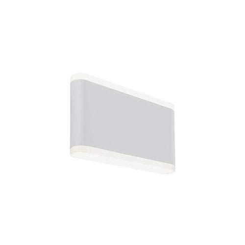Applique d'extérieur à lED 24 rectangulaire Sovil Wave Blanc