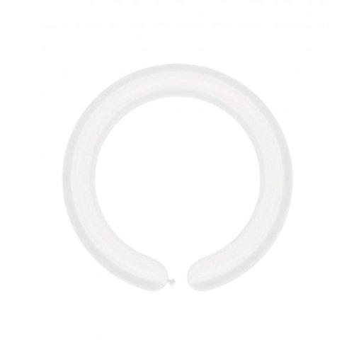 BWS- Palloncini Modellabili, Colore Bianco, Q260, RFA16P2X60-01