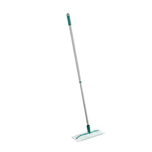 Leifheit Clean and Away Duster Mopa de Pisos Non-eléctrica, Color Verde Gris