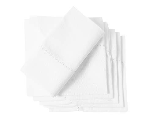 Organic Cotton Dinner Napkins - Set of 6 (20 x 20 inch)...