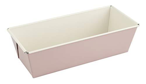 Dr. Oetker Kastenform 25 cm, Königskuchenform (Farbe: Rosa/Creme), Menge: 1 Stück