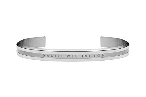 Daniel Wellington Unisex-Armreif 333er Edelstahl 43969 Silber 32014601