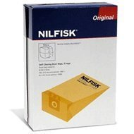Nilfisk Advance Disposable Paper Bag (qty: 5) (82222900) by Nilfisk Advance