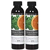 Hosley Set of 2 Citrus Cilantro Fragrance Warming Oils 5 Ounce Ideal Gift for Weddings Spa Reiki Meditation Bathroom Settings P1
