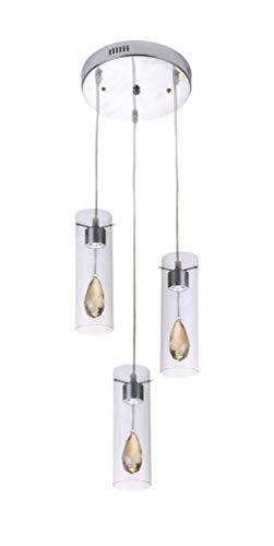 Lampex. Lampada a sospensione Deva 3P