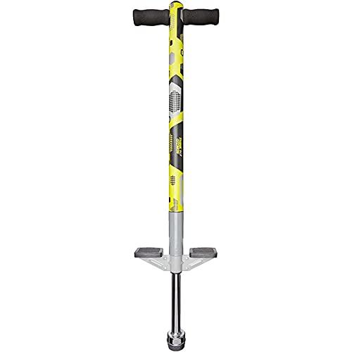 Think Gizmos Pogo Stick für Kinder - Aero Advantage - Garten Spielzeug Kinder von 5 bis 10 Jah-Ren und bis zu 36kg - Outdoor Spielzeug für Jungen und Mädchen - Spaß garantiert (Schwartz & Gelb)