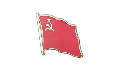 UDSSR Sowjetunion Flaggen Pin, sowjetische Fahne 2x2cm, MaxFlags®