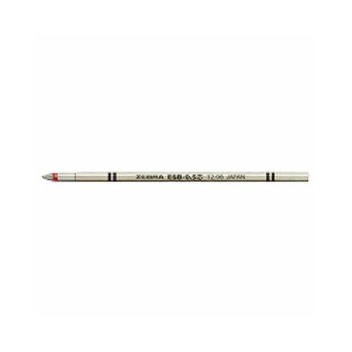 ゼブラ エマルジョンボールペン替芯 ESB-0.5芯 赤 RESB5-R 『 2本』