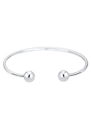 Elli Armband Kugel Ball Geo Bangle Basic 925 Sterling Silber