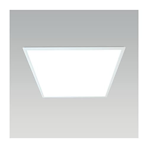 Pannello LED 60x60 per Soffitto o Controsoffitto - 50.000 Ore di Durata - 4100 Lumen Reali, Fascio Luce 120°, 40 kWh/1000h, Luce Bianca Neutra 4000k, Qualità Industriale - Ecotech