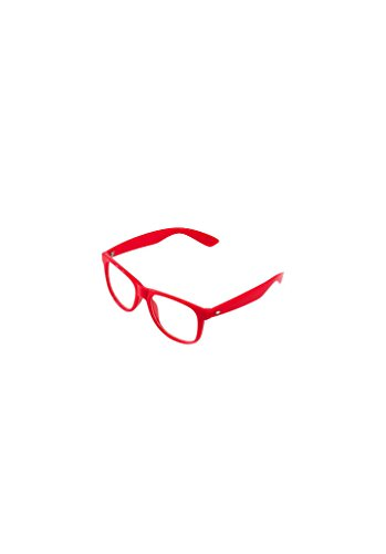 Masterdis Groove Shades Clear GStwo Sonnenbrille, Farbe:red;Größe:one-size