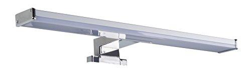 Oktaplex lighting Spiegelleuchte warmweiß Bali S 8 Watt | Spiegellampe IP44 für Spiegelschrank Badezimmer 40cm 3000K 640lm