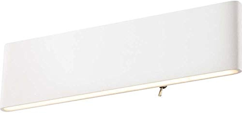 LED Wandleuchte SIEGFRIED rechteckig leuchtet auf- und abwrts wei Acryl EEK  A