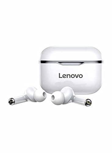 Auriculares originales Lenovo LP1 TWS Bluetooth 5.0 para PC, Android, iPad, iPhoneiOS, Dual Stereo, reducción de ruido, Hi-Fi, color negro