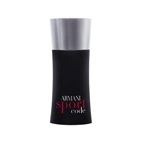 Giorgio Armani Code Sport Eau De Toilette Spray for Men, 4.2 Ounce