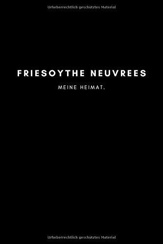 Friesoythe Neuvrees: Notizbuch, Notizblock, Notebook   Punktraster, Punktiert, Dotted   120 Seiten, DIN A5 (6x9...
