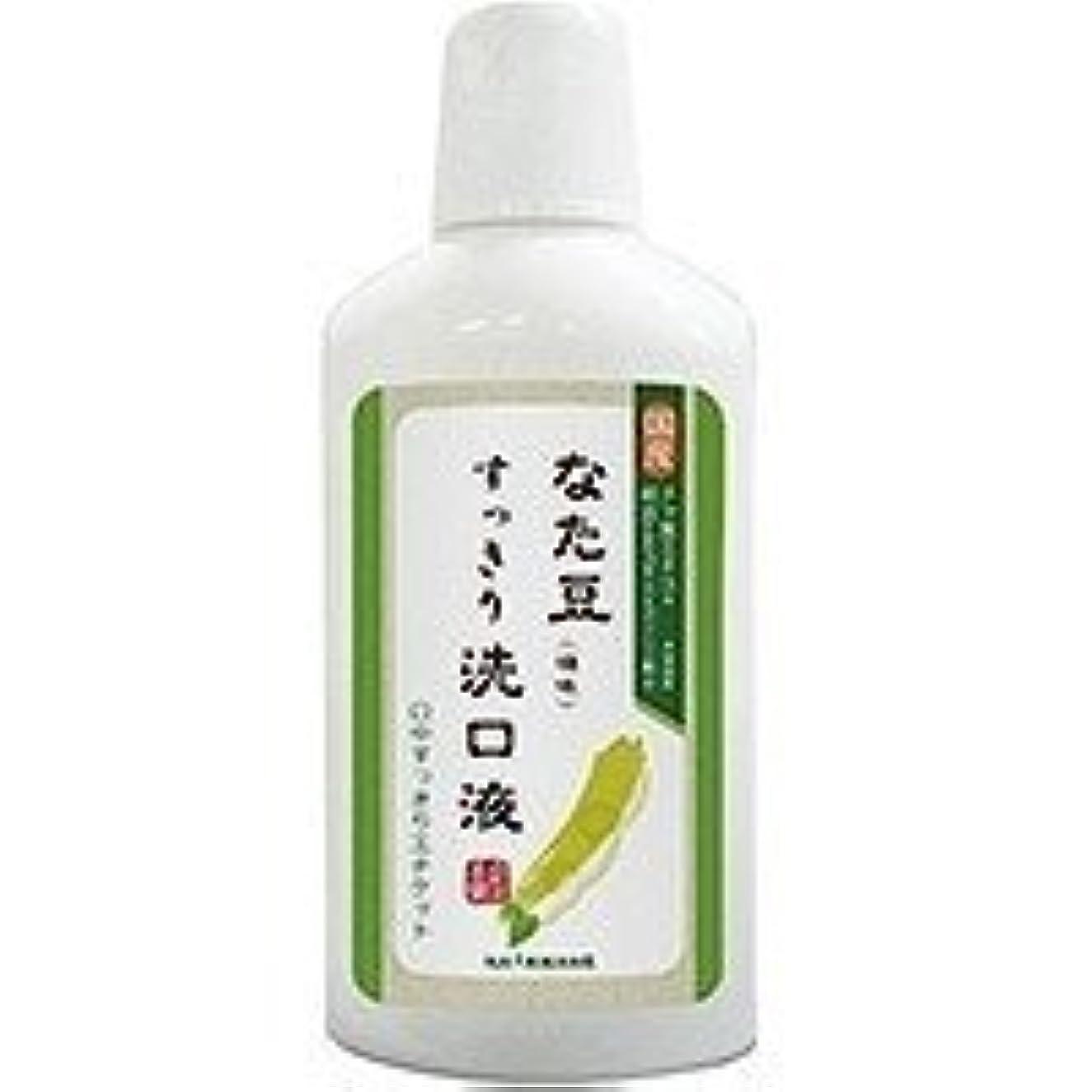 オーラルゆるく病な株式会社三和通商 なた豆 すっきり 洗口液(500ml)