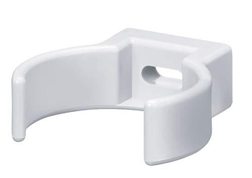 Fallrohrschelle Kunststoff weiss NW 50 für Fallrohr für Kastenrinne