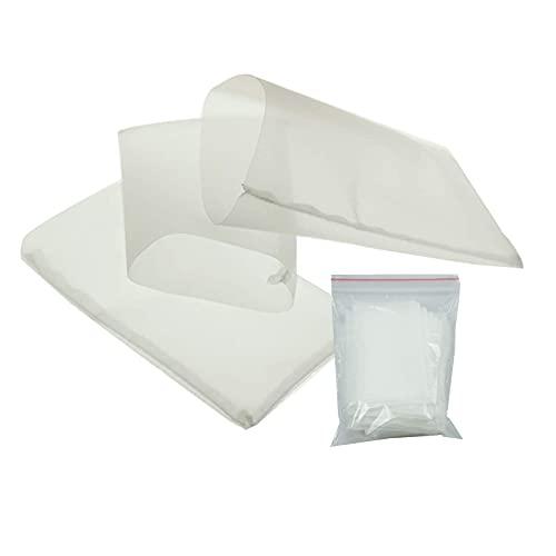 AOOF 37 micron rosin bag, reusable nylon filter press bag rosin tea bag (90 Micron,50 Pack)
