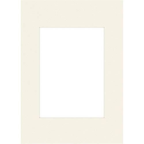Hama Premium Passepartout 30 x 40 cm (für Bilder im Format 20 x 27) schneeweiß