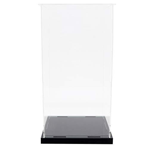 Angoily Vitrina de Acrílico Transparente Montar Caja de Encimera Organizador de Cubos Soporte Escaparate de Protección para Figuras de Acción Juguetes Coleccionables M