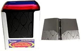 A+ Homework Poly 3 Ring 2 Pocket Portfolio - Elliptical