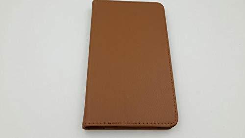 Funda Protectora Flip PU TB3-850F TB3-850M Funda de Libro de Cuero para Lenovo Tab 3 8 8,0 Pulgadas Tablet PC Litchi Stand Cover-marrón