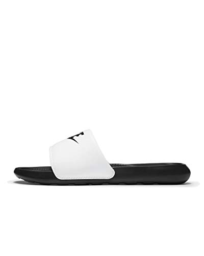 Nike Victori One Print Badelatschen Sandalen (white/black, numeric_42_point_5)