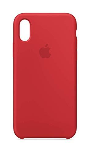 Apple Silikon Hülle (iPhoneXS) - (Product) RED