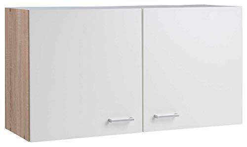 Nicht Zutreffend Küchenschrank Hängeschrank Oberschrank SOLERO 16 | Eiche Sonoma | Weiß | 2 Türen