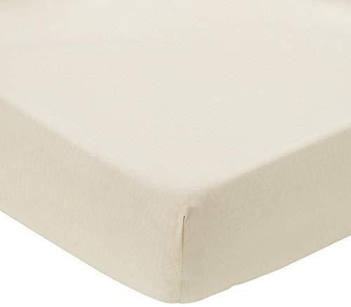ComfortBaby 00010060-58 Spannbettlaken Beistellbett Plus, beige