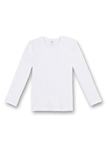 Sanetta Shirt 1/1 Arm FR 301500 Unisex - Kinder Unterwäsche/ Unterhemden, Gr.128, Weiß(10 )