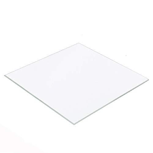 300mm x 400mm x 4mm Borosilicate Glass Build Plate/Bed for Mini 3D Printer Printbed