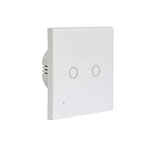 BeIilan Interruptor Neo Coolcam WiFi 2 Alturas de Montaje en Pared Luz de Cristal del Panel táctil Smart Home Interruptor de Las Luces de la UE