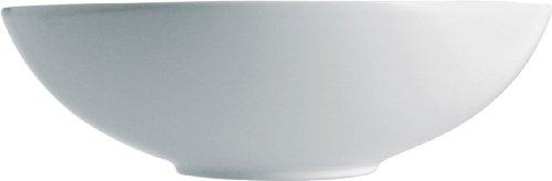 """Alessi Mami """" Salatschüssel rund aus weißem Porzellan 27,5cm, 17.5 x 28 x 17 cm"""