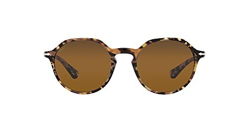 Persol Gafas de Sol PO 3255S Brown Tortoise/Brown 51/20/140 unisex
