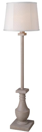 Kenroy Home 32269COQN Patio Outdoor Floor Lamp, 17