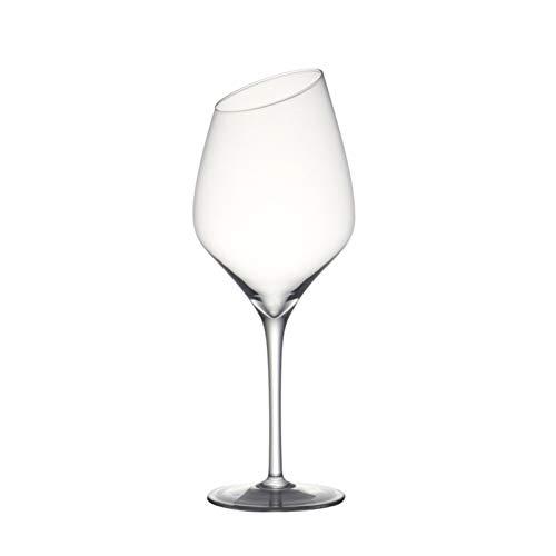 NGHSDO Copas De Vino Conjunto de 2 18 onzas Hecho a Mano Cristal de Cristal Vino Rojo Vino de Vino Blanco para la Boda de la Fiesta 1 (Capacity : 530ml 18oz 2PCS)