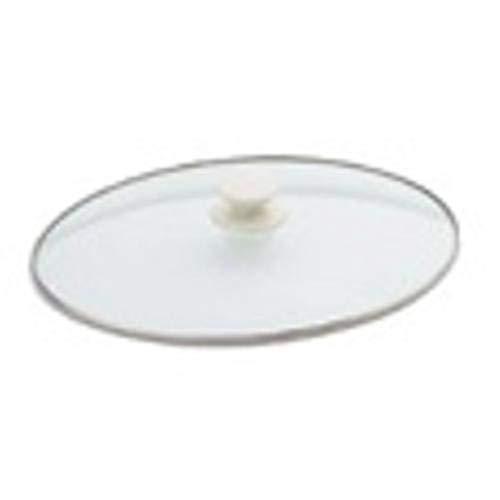 Shreem85 Replacement Crock Glass Oval Pot Lid 4 Quart For Rival SCV401-UM