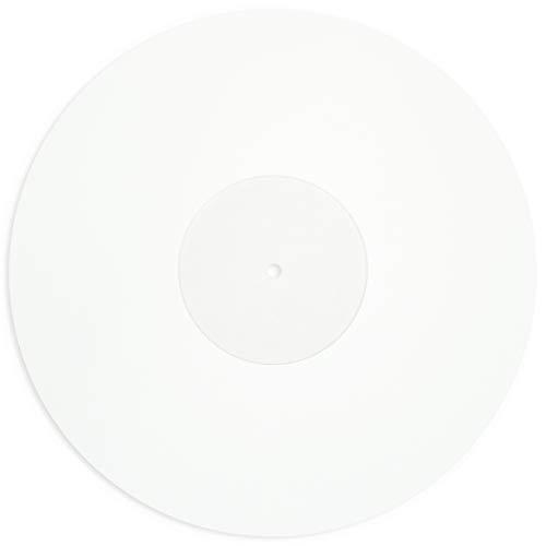 Platensteun/platenspeler pad acryl/slipmat acryl Clear