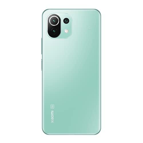 Xiaomi Mi 11 Lite 5G 6+128GB SIMフリー スマートフォン ミントグリーン 【日本正規代理店品】