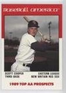 Scott Cooper (Baseball Card) 1989 Baseball America Top AA Prospects - [Base] #AA-9