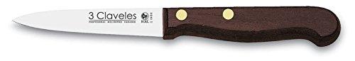 3Claveles 1008 - Cuchillo para verduras de 9 cm, 3,5 pulgadas