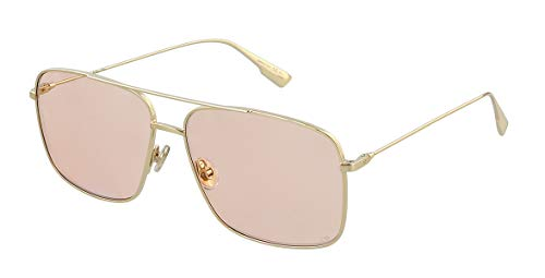 Christian Dior Women's STELLAIREO3S-J5G-W7 Sunglasses, Gold, 57/13/145
