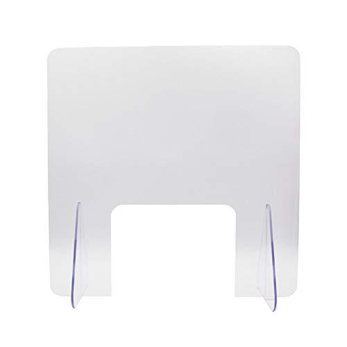 niesschutz plexiglas,niesschutz transparent,schutzwand spuckschutz , tragbare transparente Plexiglasbarriere Nieschutzschutz, geeignet für Banken, Hotels, Restaurants, Tröpfchenschutz, langlebig